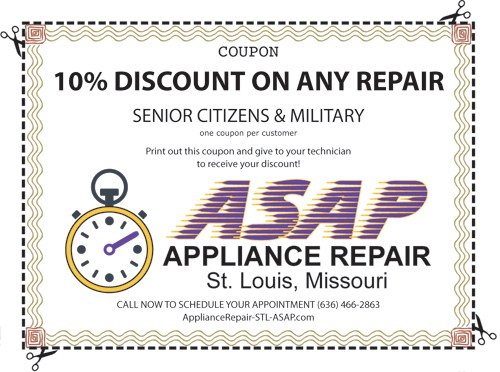 Appliance Repair and appliance Maintenance Service in St.Peters, MO 63304, St.Charles, MO 63304 and Weldon Springs, MO 63304