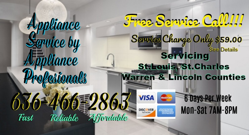 Appliance Maintenance in Ofallon, MO 63368
