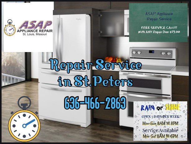 Gas Range Repair in St.Peters, MO 63376