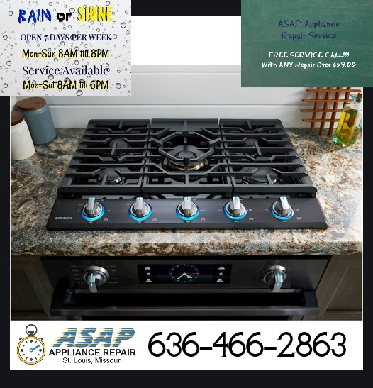 Cook Top Installation in St.Charles, MO