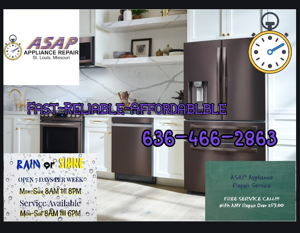 Kitchen Appliance Repair in Chesterfield, MO 63017
