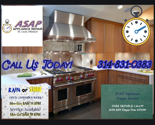 Gas Range repair in Clayton, MO 63105