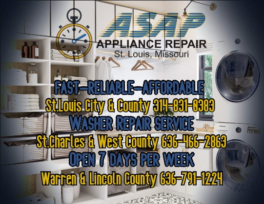 Front Load Washer Repair Service