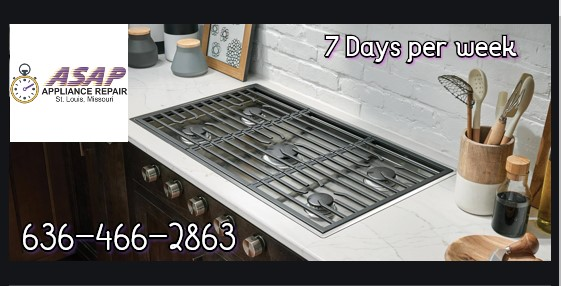 Cook Top Installation in St.Peters, MO 63376
