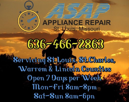 Appliance Maintenance Service in St.Louis, St.Charles, Warren & Lincoln Counties